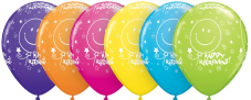 Happy Retirement Assorted Balloons 6 Pack